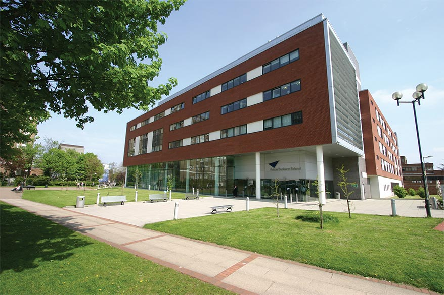 A photograph of the outside of Aston Business School, venue for the 2016 SfEP conference.